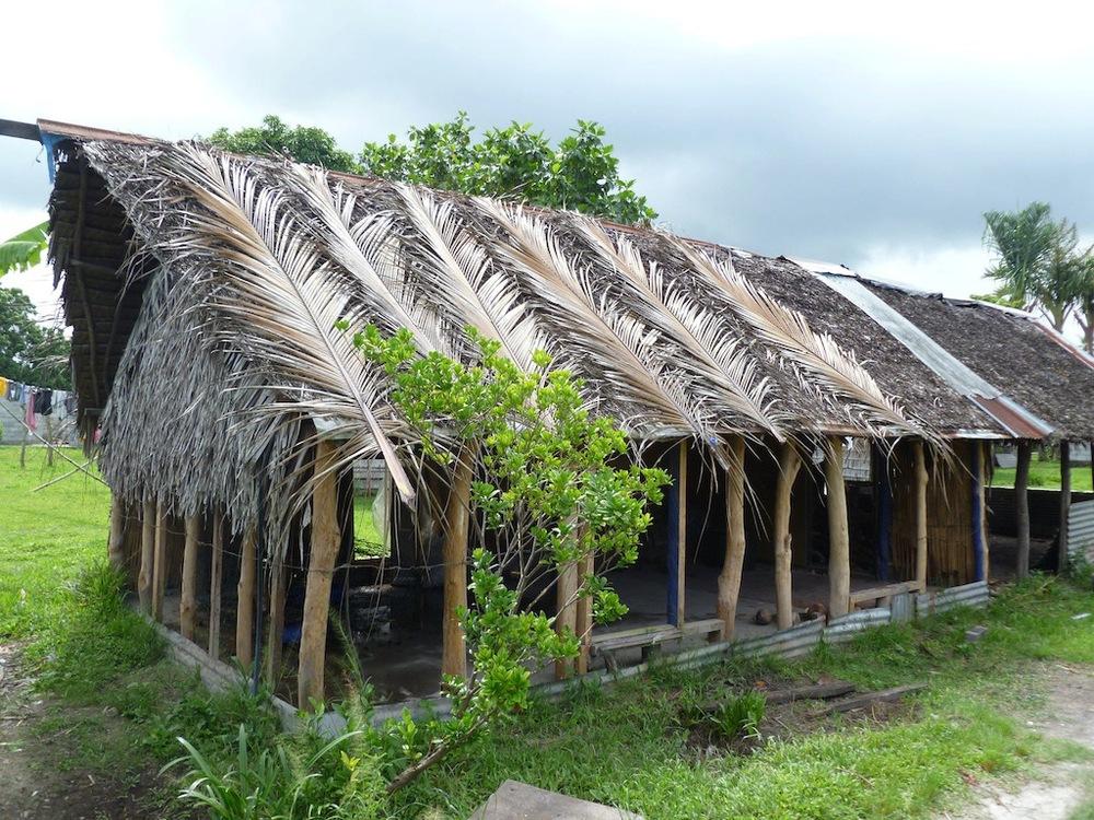 Vanuatu - Grass hut