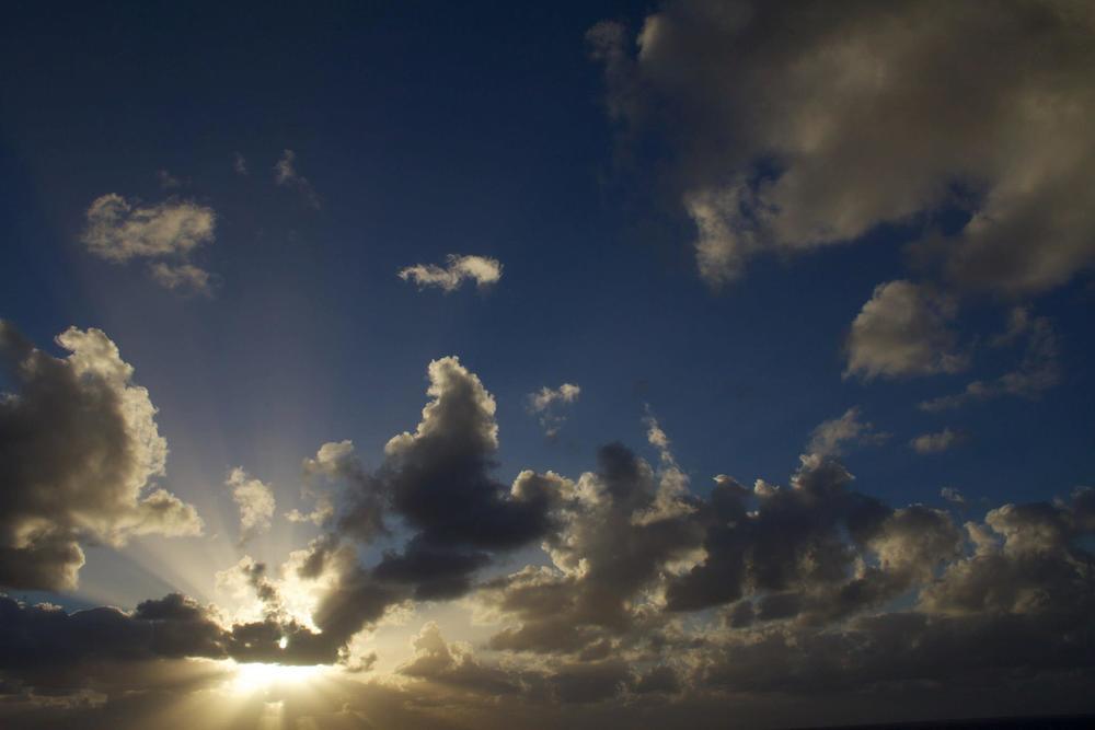 Crusie - sunset