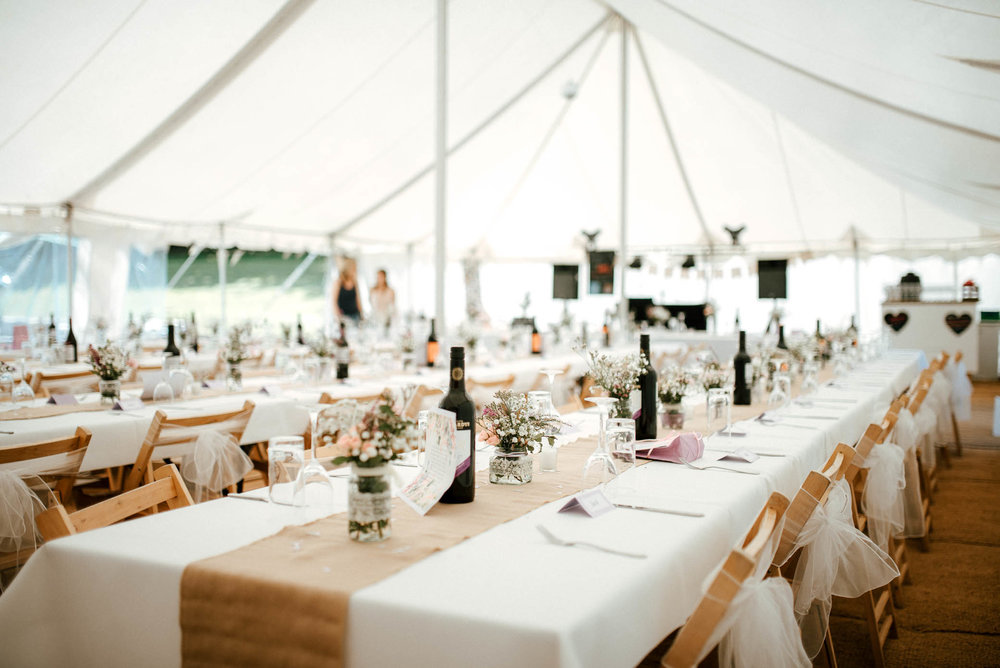 cissbury barns wedding breakfast