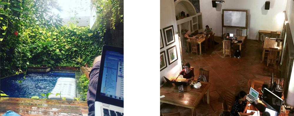 Dojo Coworking Space in Canggu, Bali