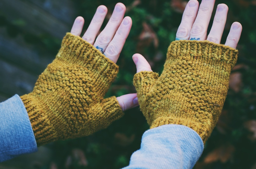 North Country Mitts: Pattern available  HERE