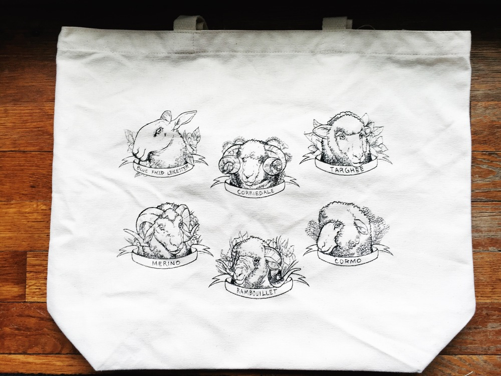 One of my absolute favorite keepsakes from the trip is Sincere Sheep's Sheep Tote! I mean - come on! How cute is this bag? Love it!