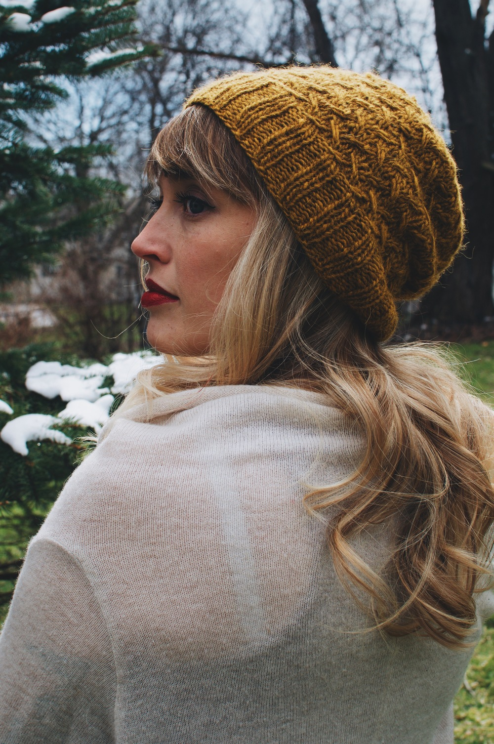 624afc2c30c Leave a comment below to have a chance to win the Pollen hat pattern .pdf