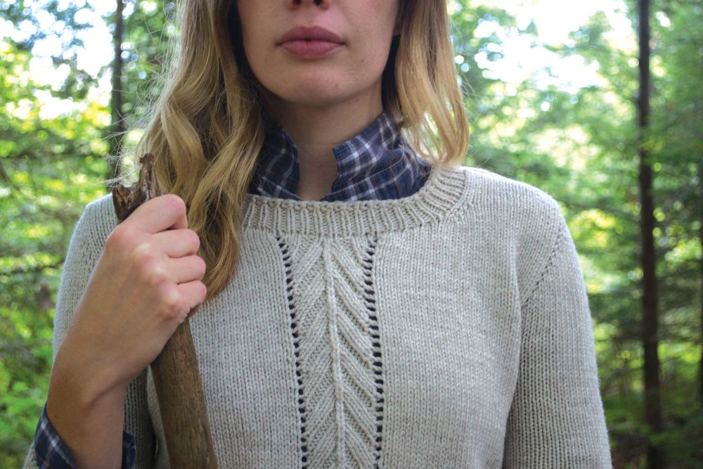 Mountainside Pullover by Alicia Plummer
