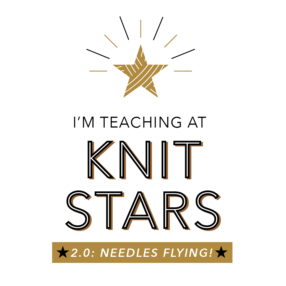 Click here to sign up for the most amazing (and affordable) knitting summit in the world!!