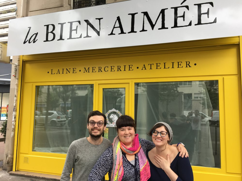 Team LBA Yarn!! - Francesco, Aimée & Hiro