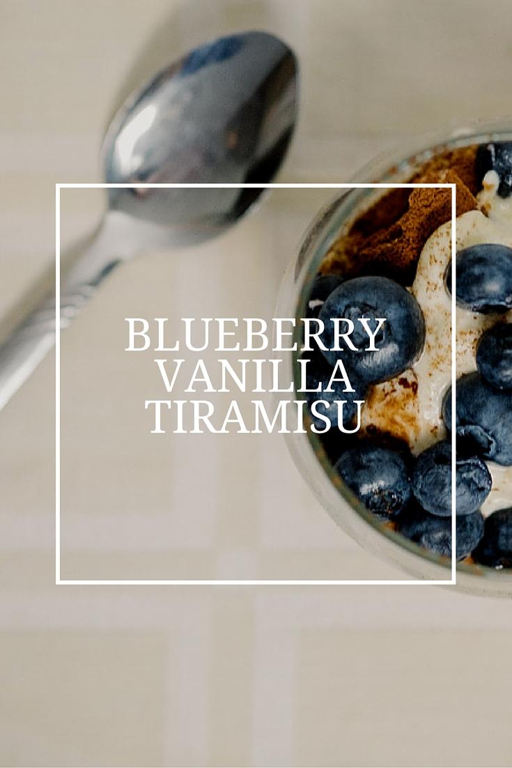 Blueberry Vanilla Tiramisu – Recipe