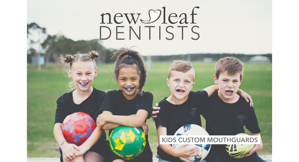 $99* Customised sports mouthguards for kids