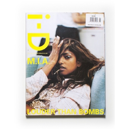 i-D M.I.A shot by Wolfgang Tillmans
