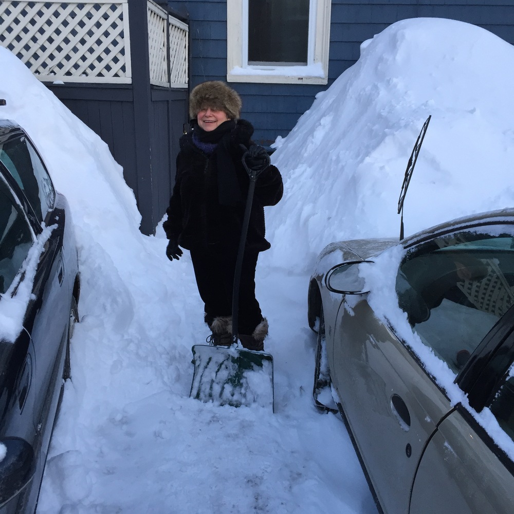 Digging out from the Great Boston Snowfall of 2015!
