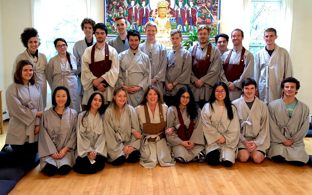 November 2017 College Retreat with Zen Master Bon Yeon