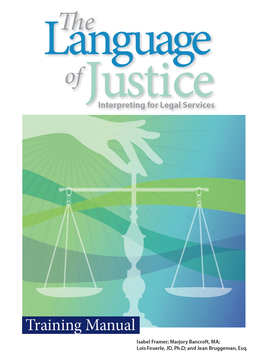 The Language of Justice: A Training Manual — Cross-Cultural Communications