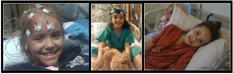 Lucia during her stay at Weill Cornell Medical Center and Memorial Sloan Kettering Cancer Center