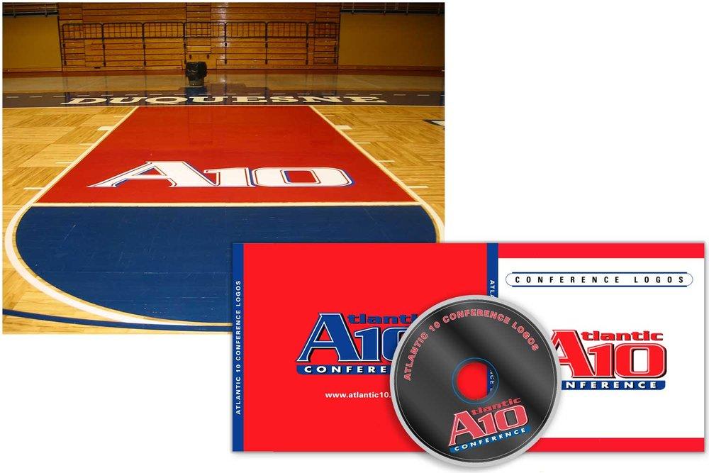 Atlantic 10 Basketball Conference logo
