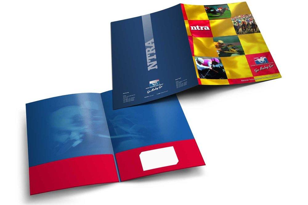 "Corporate Pocket Folder, 9"" x 12"""