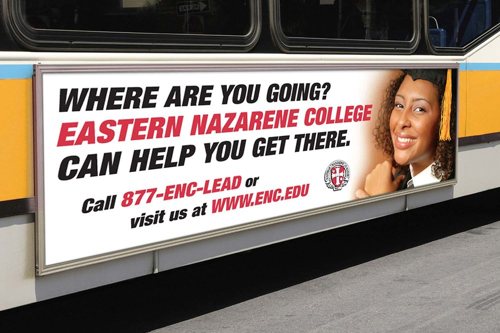 Promotional Bus Billboard