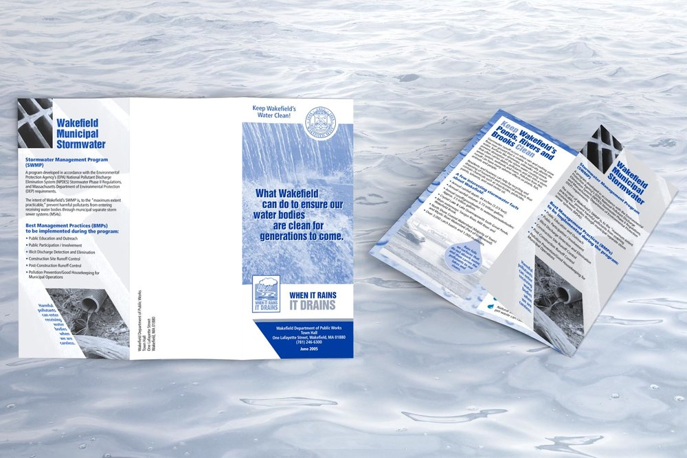 """Informational Brochure, 11"""" x 8.5"""" trifold"""