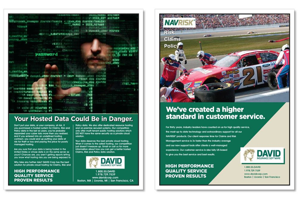 "Trade Magazine Ads, 9.4"" x 11.8"""
