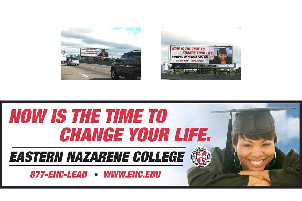 Promotional Billboard, 48 ft. x 14 ft.