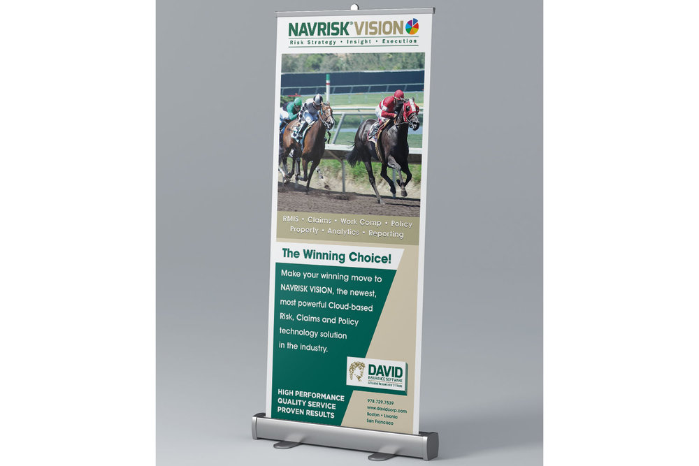 """Roll-up Banner, 31.5"""" x 83.25"""""""