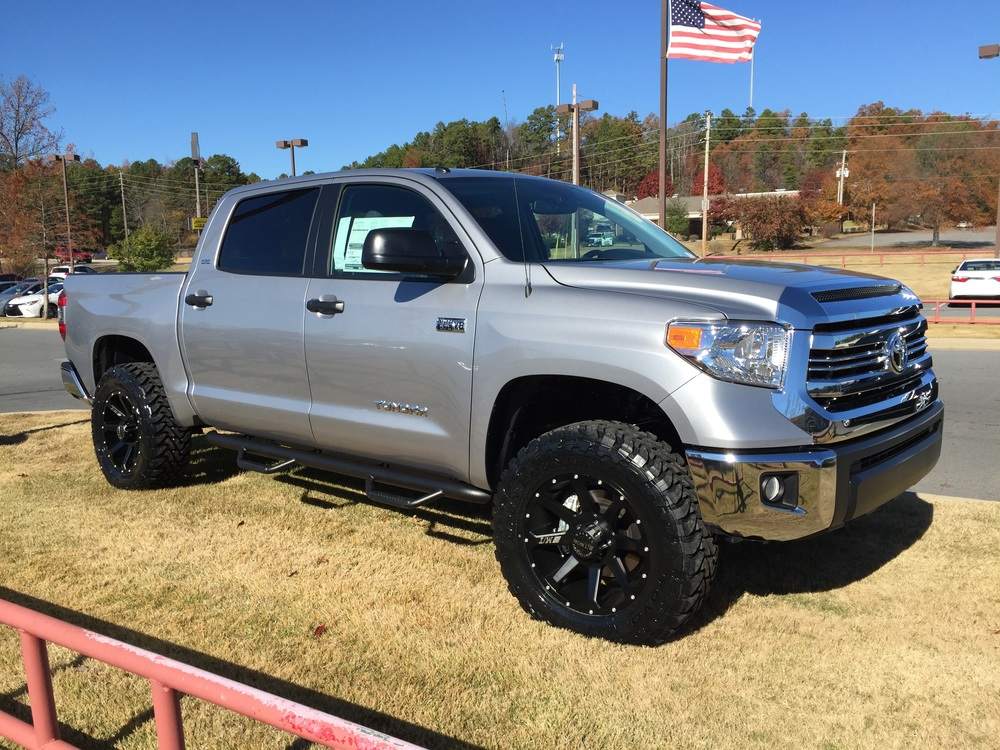 2016 Toyota Tundra CrewMax with Lift — Mike Shull's Little Rock Car ...