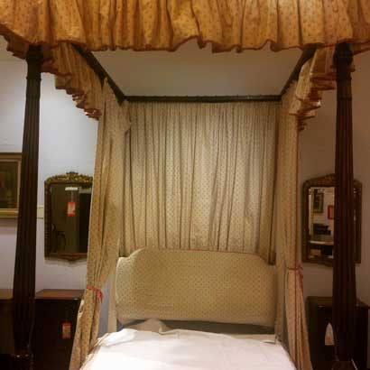 four poster bed Christies London