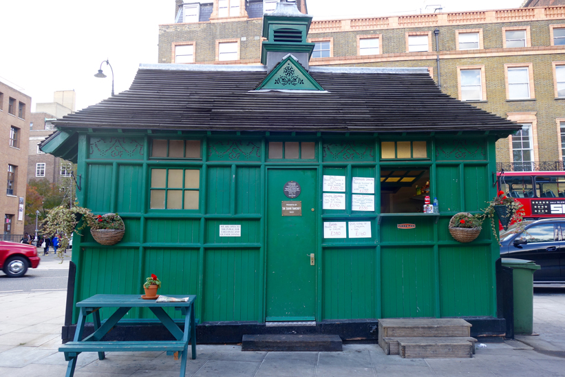 Cabmens' shelter at Russell square