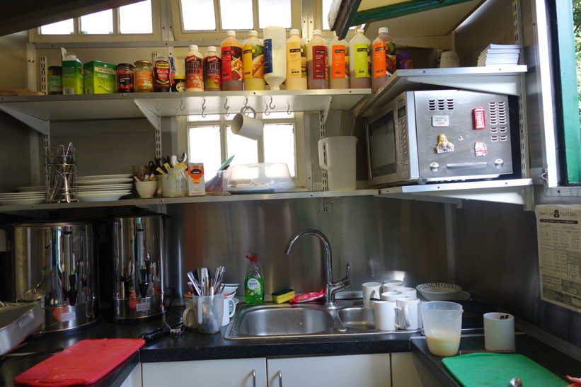 the kitchen of the cabmens' shelter russell square