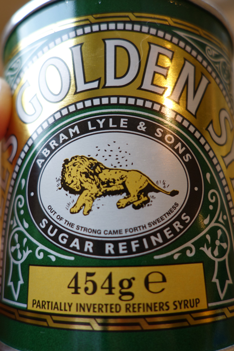 The lion from Lyle's Golden syrup tin