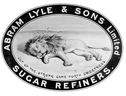 Original Lyle's Golden syrup logo