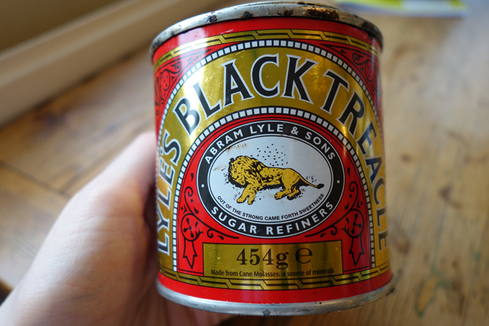 Lyle's Black Treacle tin