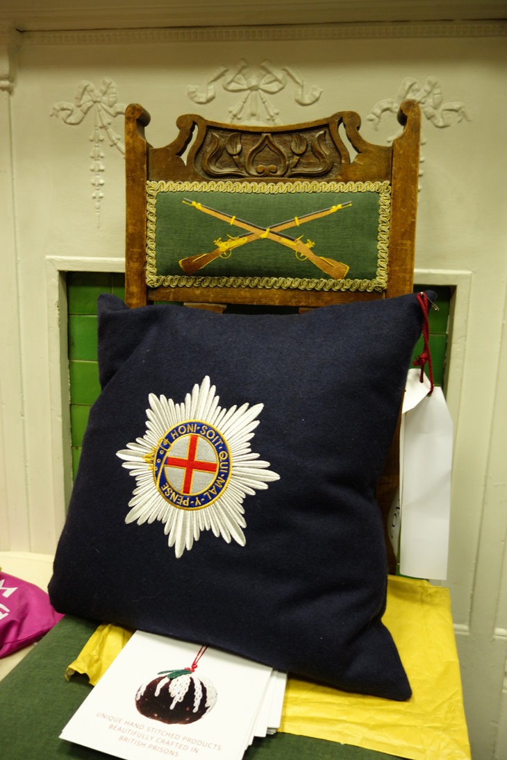 Military embroidery work from Fine Cell Work
