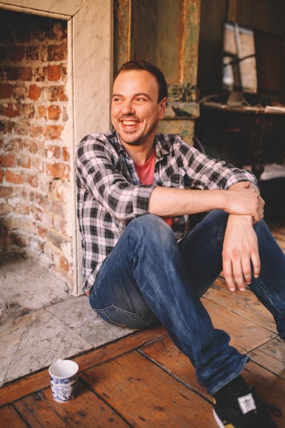 Rupert Hunt founder of Spare room