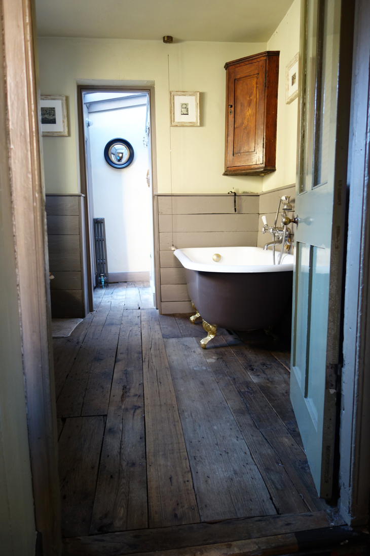 Bathroom from Spare Room Founder Rupert Hunt's Spitalfields House