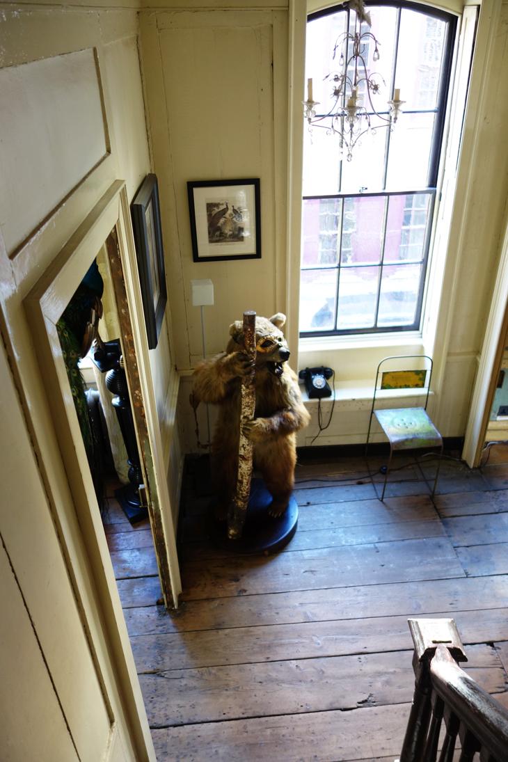 Stuffed bear from Rupert Hunt's house
