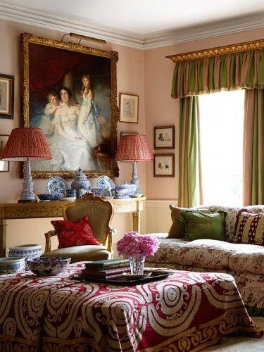 Penny Morrison's welsh sitting room