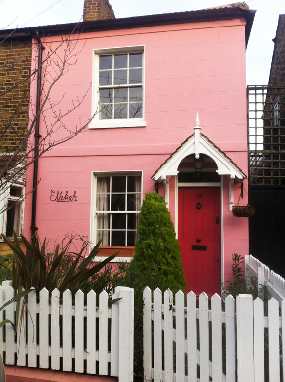 Pink House walthamstow village