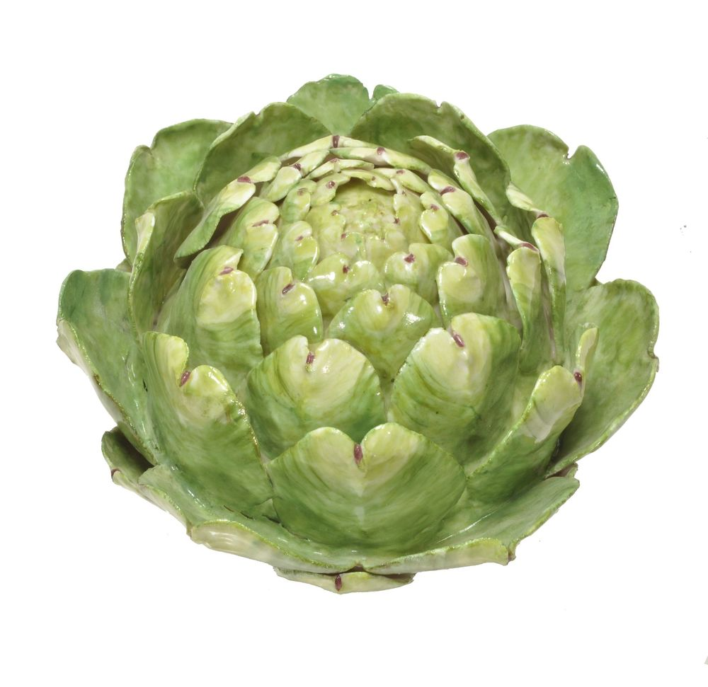 An artichoke model by Anne Gordon
