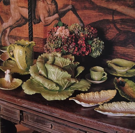 A sideboard full of lettuce ware, the envy of all