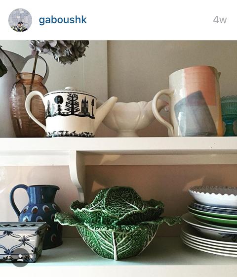 Gabby Deeming's lettuce ware dish
