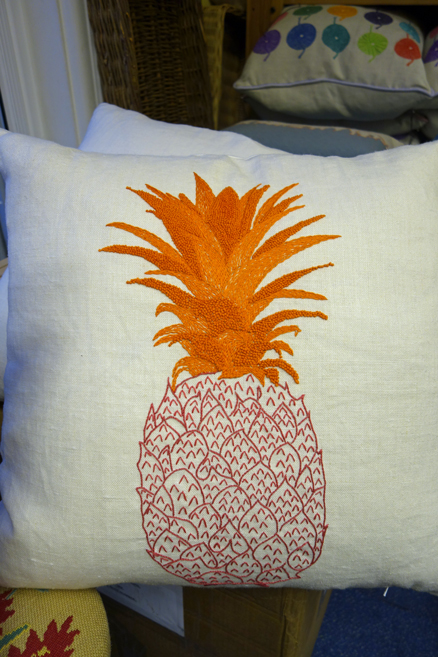 Fine Cell Work pineapple cushion