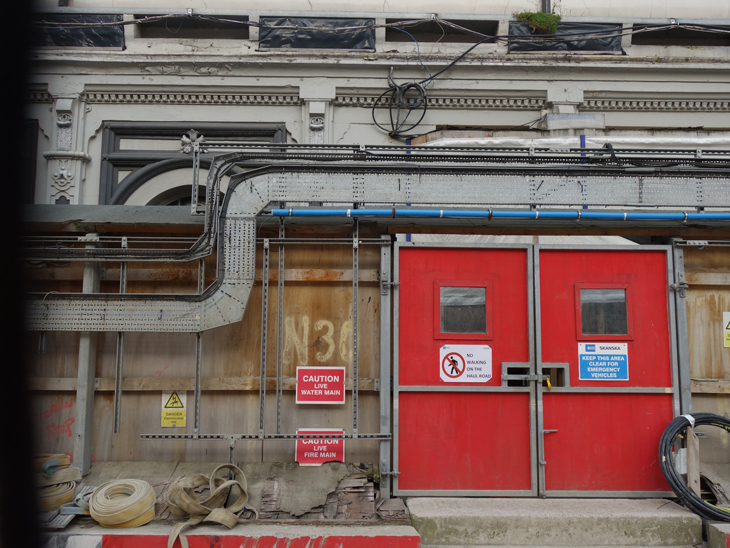 Crossrail site at Paddington station