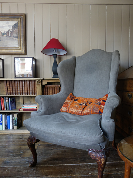 armchair at Townhouse Spitalfields
