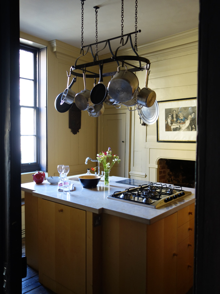 kitchen at Townhouse Spitalfields