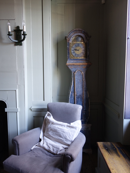 Grandfather clock from Townhouse spitalfields