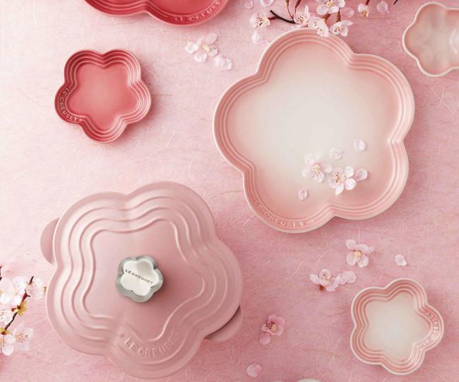 Japanese Cherry blossom Le Creuset