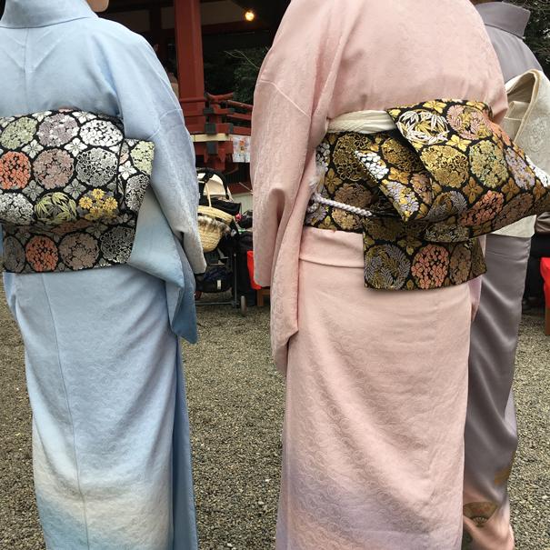 Kimonos in Tokyo by Isla Simpson