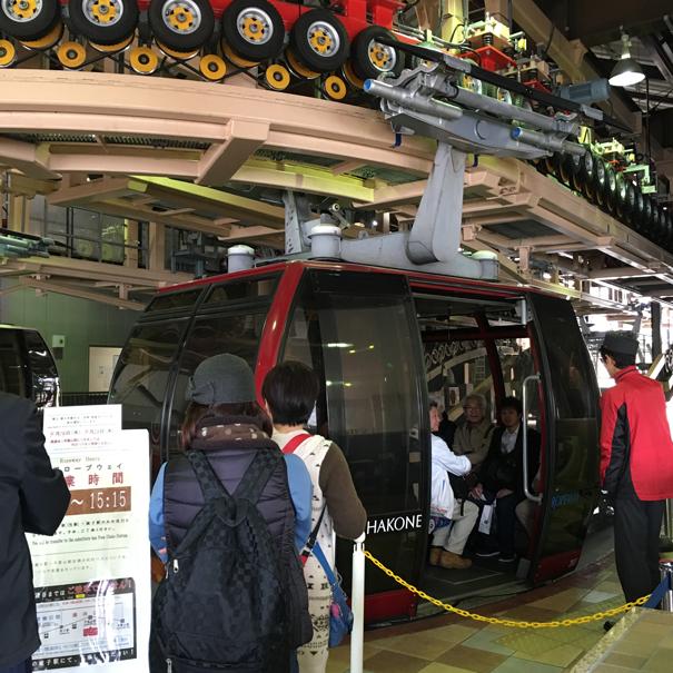 Cable car on Miyajima Island taken by Isla Simpson