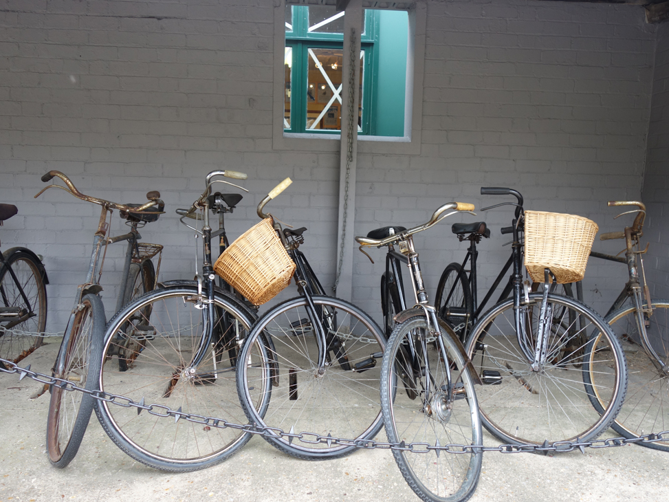 Bletchley Park bicycles taken by Isla Simpson