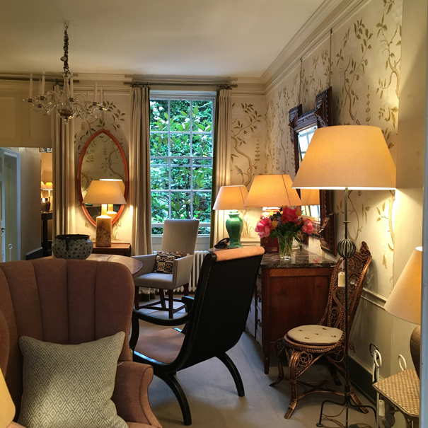 Colefax and Fowler's Brook Street showroom taken by Isla Simpson